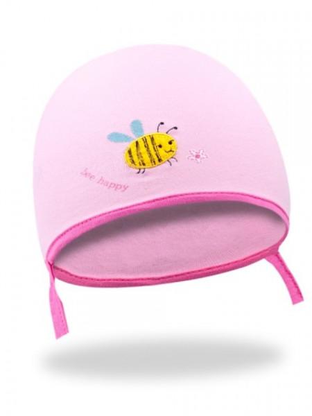 Caciulita roz pal - Albinuta