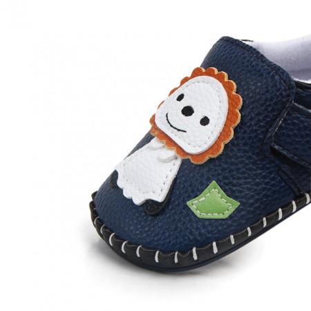 Pantofiori baietei - Leul si iepurasul
