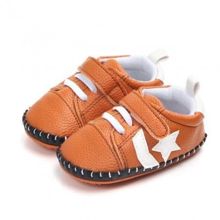 Pantofiori maro cu steluta