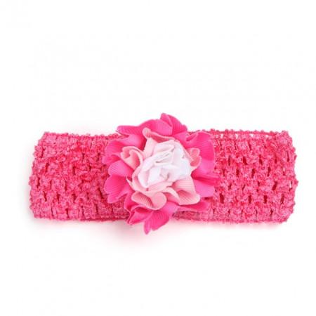 Bentita pentru fetite - Trandafir multicolor