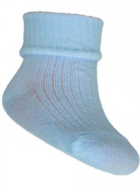 Ciorapei bleu si belumarine pentru bebelusi