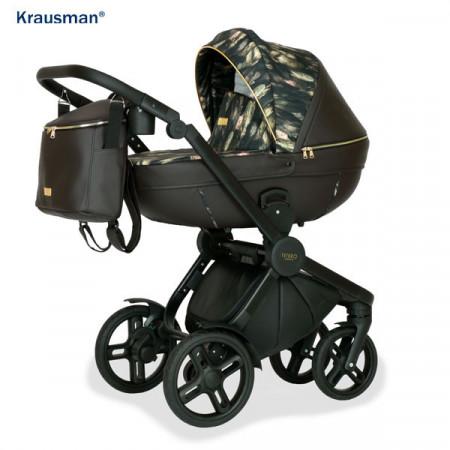 Krausman - Carucior 3 in 1 Topaz Lux Dark Brown LIMITED