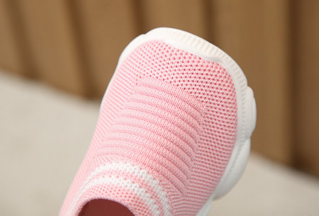 Mocasini tip adidas roz