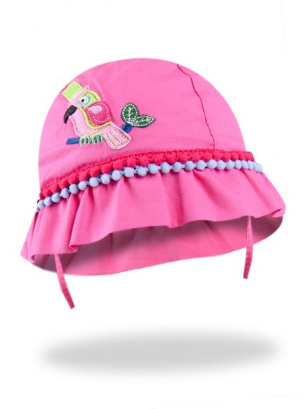 Palariuta pentru fetite - model Pink Parrot
