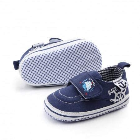 Pantofiori bebelusi bleumarine - Baby sailor