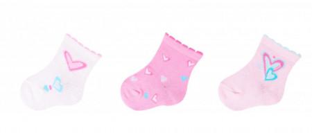 Set de 3 perechi de sosetele pentru fetite - Modele Diverse