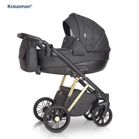 Krausman - Carucior 3 in 1 LEXXO Gold Black