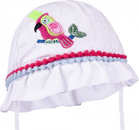 Palarie pentru fetite - model Pink Parrot