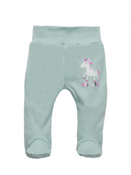 Pantaloni cu botosei - Unicorn Mint
