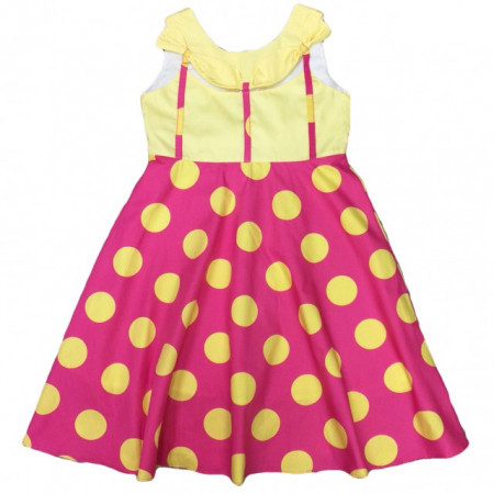 Rochie fete - Yellow dots