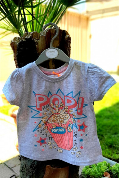Tricou fetite - Popcorn