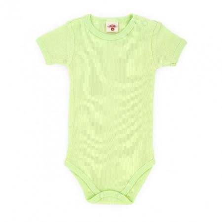 Body vernil cu maneca scurta pentru bebelusi