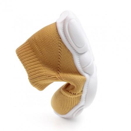 Mocasini tip adidas galben mustar