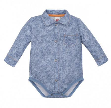 Body camasuta pentru bebelusi Denim Style 2 - Colectia Elegant
