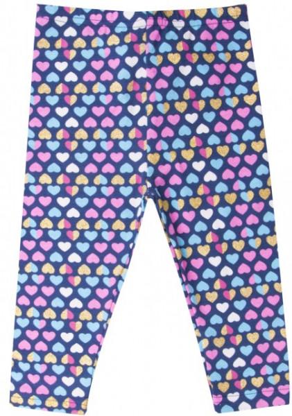 Colanti pentru fetite - Inimioare colorate