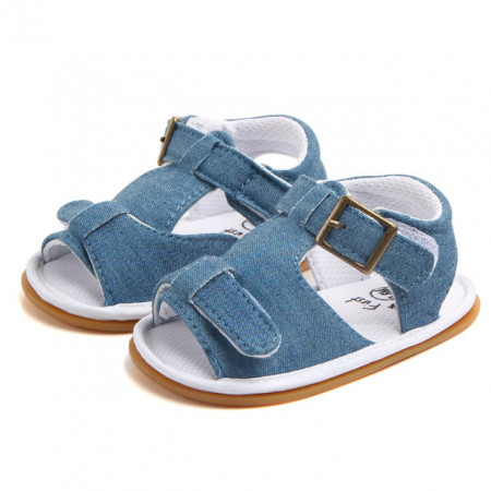 Sandalute baietei albastre