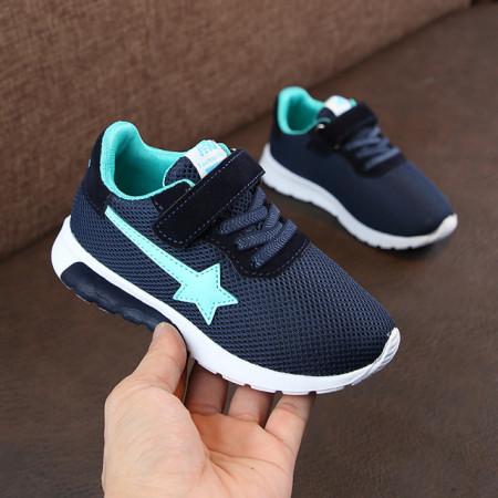 Adidasi bleumarine cu stea