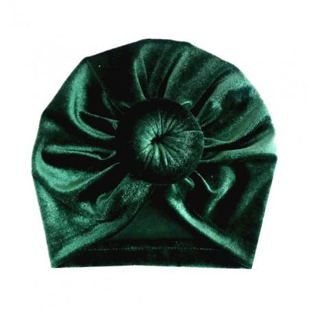 Caciulita tip turban din catifea
