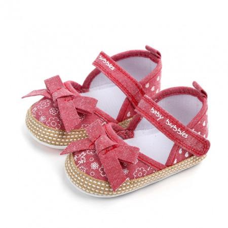 Pantofiori fetite cu fundita