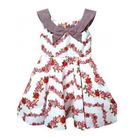 Rochie fetite - Ghirlande de floricele