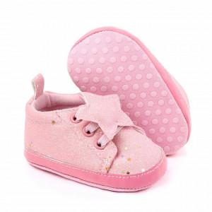 Adidasi fetite cu slipici roz
