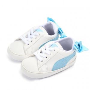 Adidasi fetite - Fundita bleu