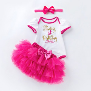 Body cu fustita tutu - It's my 1st birthday
