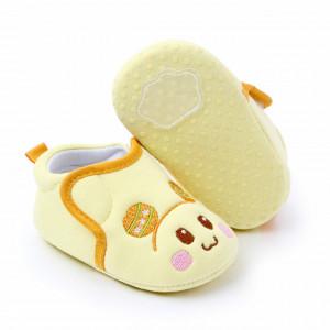 Botosei pentru bebelusi - Yellow teddy
