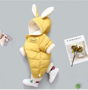 Combinezon galben mustar din fas - Rabbit