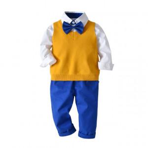 Costum pentru baietei cu vesta