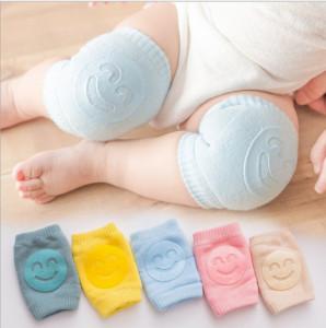 Genunchiere cu silicon pentru bebe - Smile