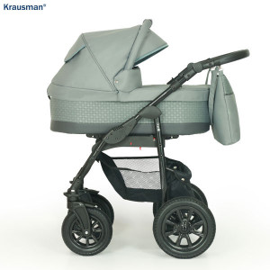 Krausman - Carucior 3 in 1 Jet Grey