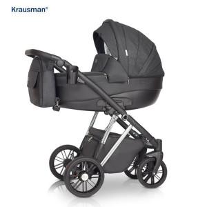 Krausman - Carucior 3 in 1 LEXXO Silver Black