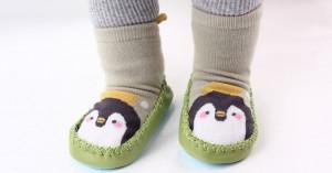 Mocasini vernil pentru copii - Pinguin