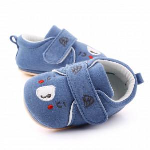 Pantofiori albastri pentru baietei - Teddy