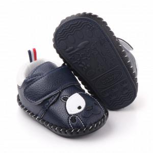 Pantofiori bleumarine pentru baietei - Catelus