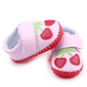 Pantofiori fetite roz - Doua cirese