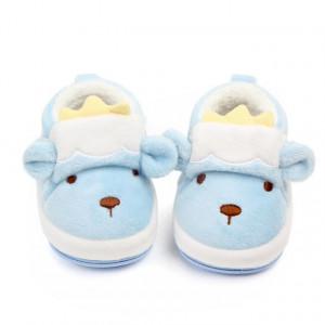 Pantofiori imblaniti bleu - Printul fermecat