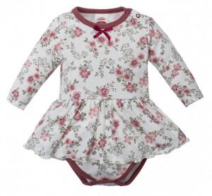 Rochita body pentru bebelusi - Colectia Roses
