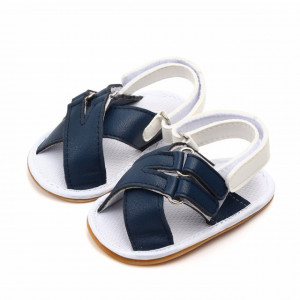 Sandalute bleumarine cu barete