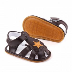 Sandalute maro cu stea galbena