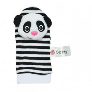 Sosetele interactive pentru bebelusi - Panda