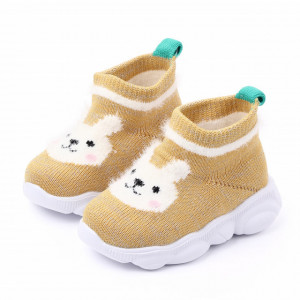 Mocasini galbeni tip adidas - Bunny