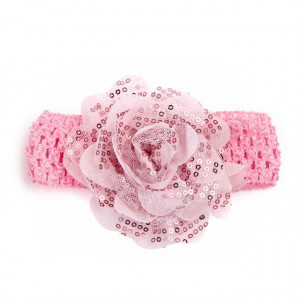 Bentita pentru fetite - Trandafirul roz