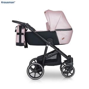 Carucior 3 in 1 model Verano Lux Pink