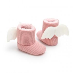 Cizmulite roz cu aripioare
