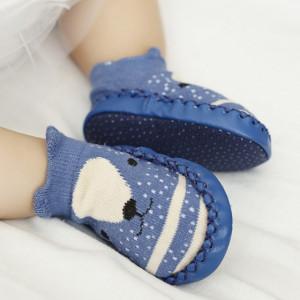 Mocasini copii - Ursulet albastru