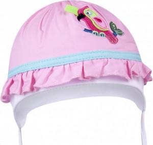 Palariuta roz pentru bebelusi - model Papagalul roz