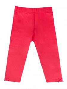 Pantaloni rosii tip colant pentru fetite