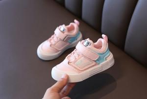 Pantofi roz cu bleu tip tenisi
